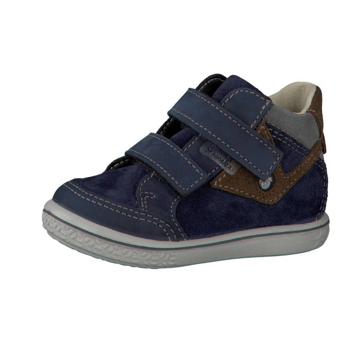 Ricosta Pepino Kimo blau braun nautic hazel Schuhe Jungen Mädchen Kinder