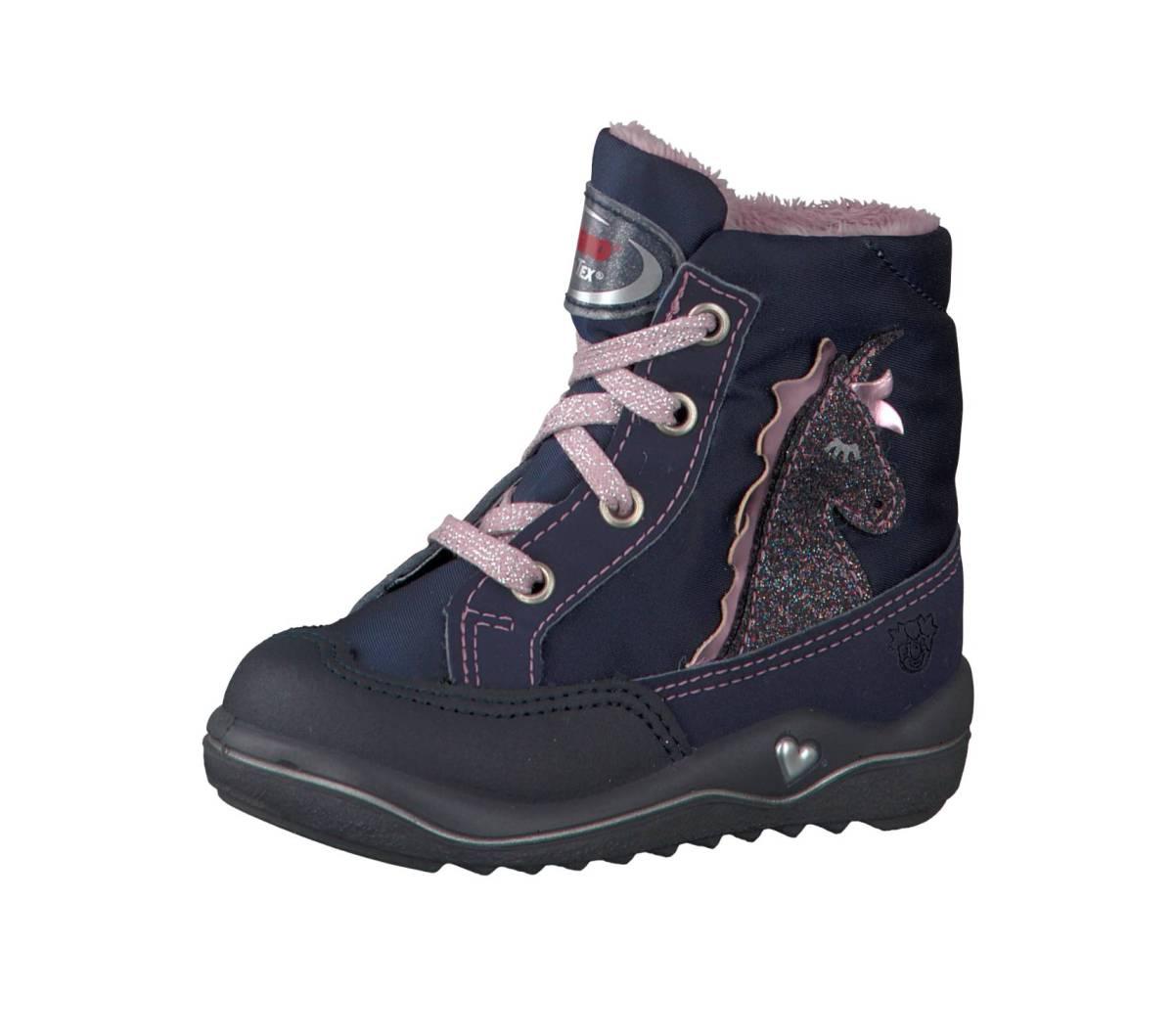 Ricosta Pepino Alina blau (Rakete) nautic marine Stiefel Boots Jungen Mädchen