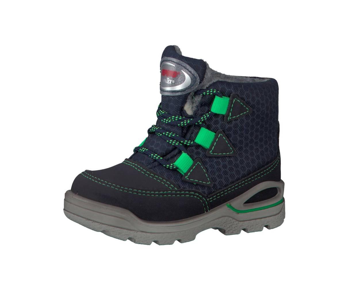 Ricosta Pepino Emil blau see ozean Schuhe Stiefel Boots Jungen Mädchen Kinder