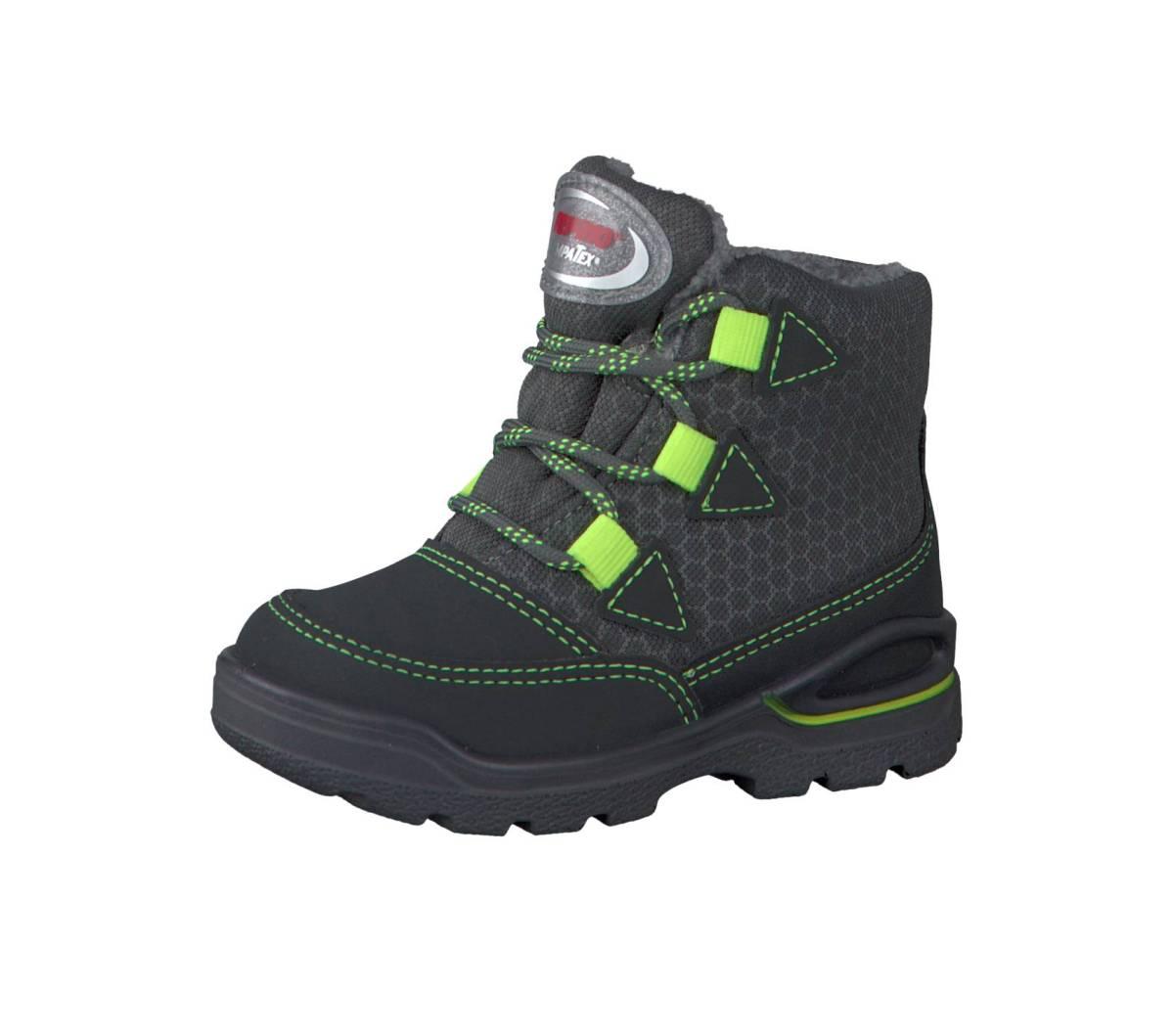 Ricosta Pepino Emil grau grigio grau Schuhe Stiefel Boots Jungen Mädchen Kinder