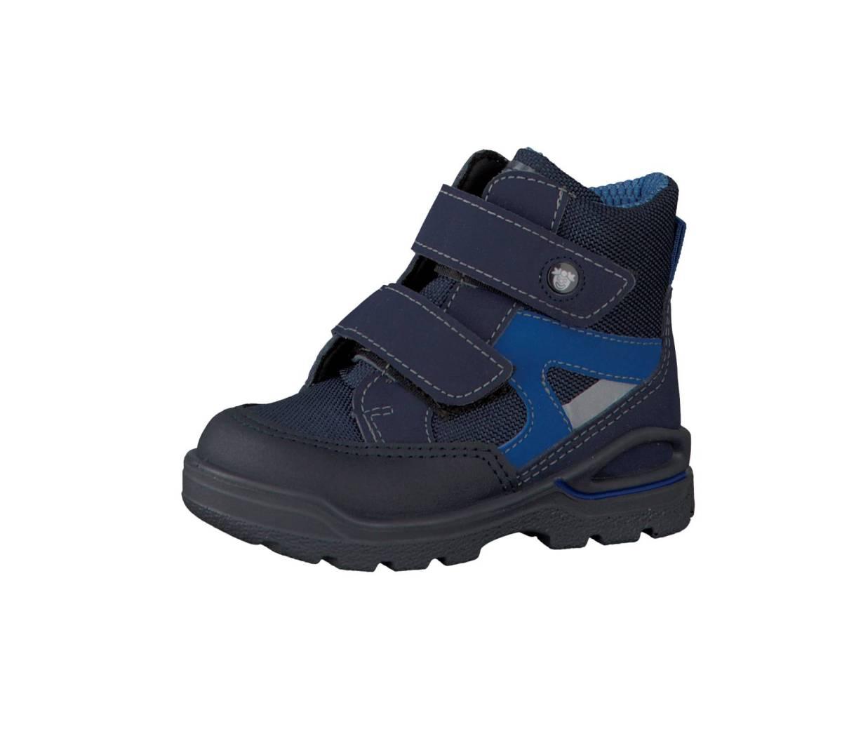 Ricosta Pepino Friso blau nautic ozean Schuhe Stiefel Boots Jungen Mädchen