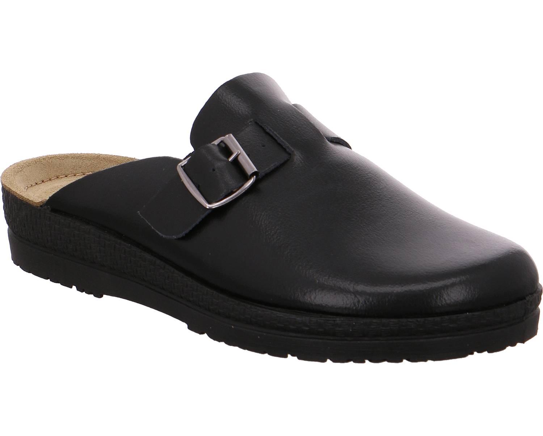 Rohde Neustadt schwarz schwarz Schuhe Pantoffel Hausschuhe Herren
