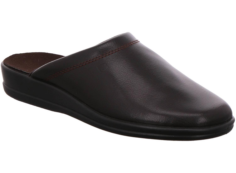 Rohde Lekeberg braun mocca Schuhe Pantoffel Hausschuhe Herren