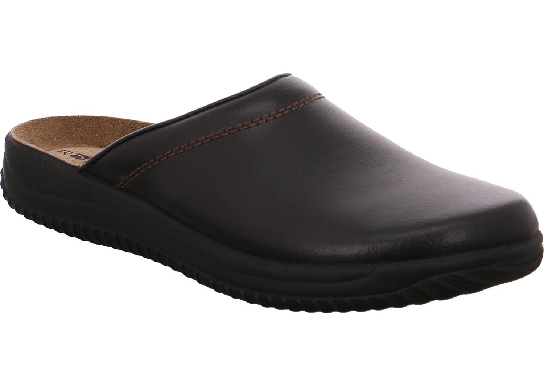 Rohde Triest braun mocca Schuhe Pantoffel Hausschuhe Herren