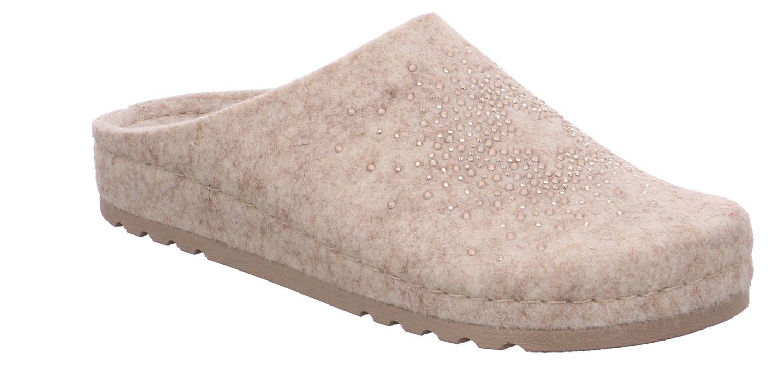 Rohde Riesa creme beige silk Schuhe Pantoffel Hausschuhe Damen