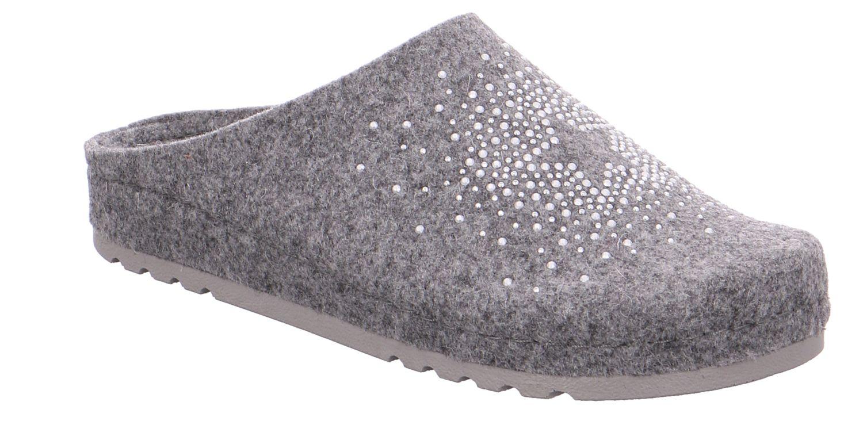 Rohde Riesa grau grau Schuhe Pantoffel Hausschuhe Damen