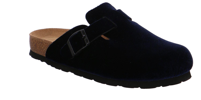 Rohde Alba blau ocean Schuhe Pantoffel Hausschuhe Damen