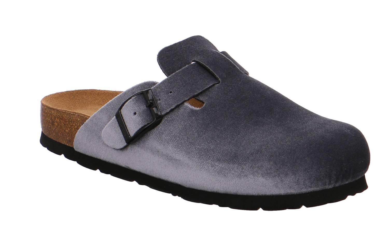 Rohde Alba grau blau fog Schuhe Pantoffel Hausschuhe Damen