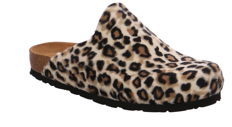 Rohde Alba gelb (leopard) sahara Schuhe Pantoffel Hausschuhe Damen