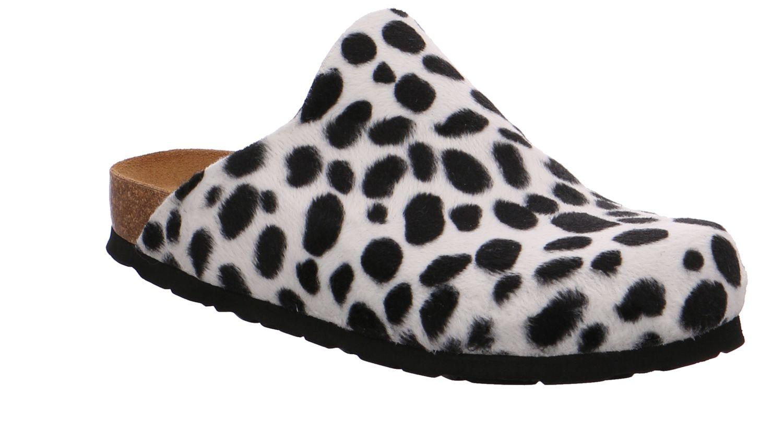 Rohde Alba schwarz weiß schwarz weiß Schuhe Pantoffel Hausschuhe Damen