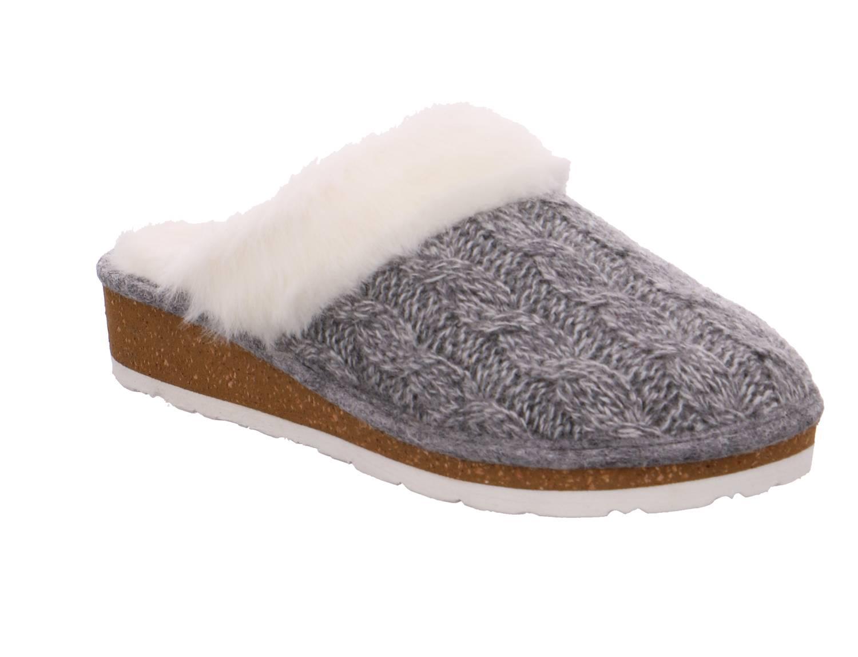 Rohde Forli grau grau Schuhe Pantoffel Hausschuhe Damen