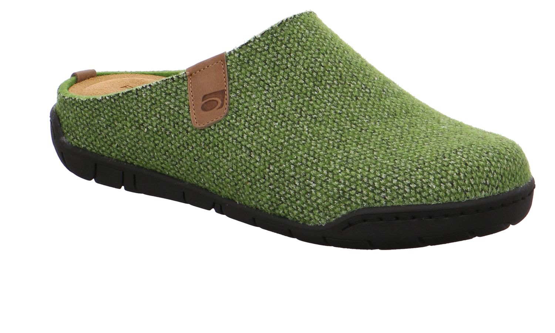 Rohde Mira grün pesto Schuhe Pantoffel Hausschuhe Damen