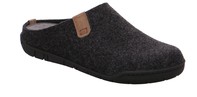 Rohde Mantua anthrazit grau anthrazit Schuhe Pantoffel Hausschuhe Herren