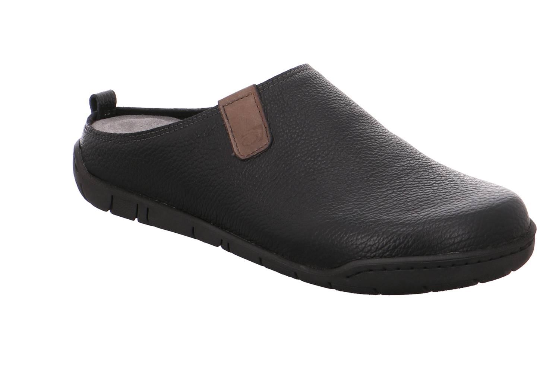 Rohde Mantua schwarz schwarz Schuhe Pantoffel Hausschuhe Herren