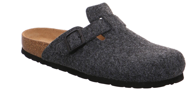 Rohde Grado anthrazit grau anthrazit Schuhe Pantoffel Hausschuhe Herren