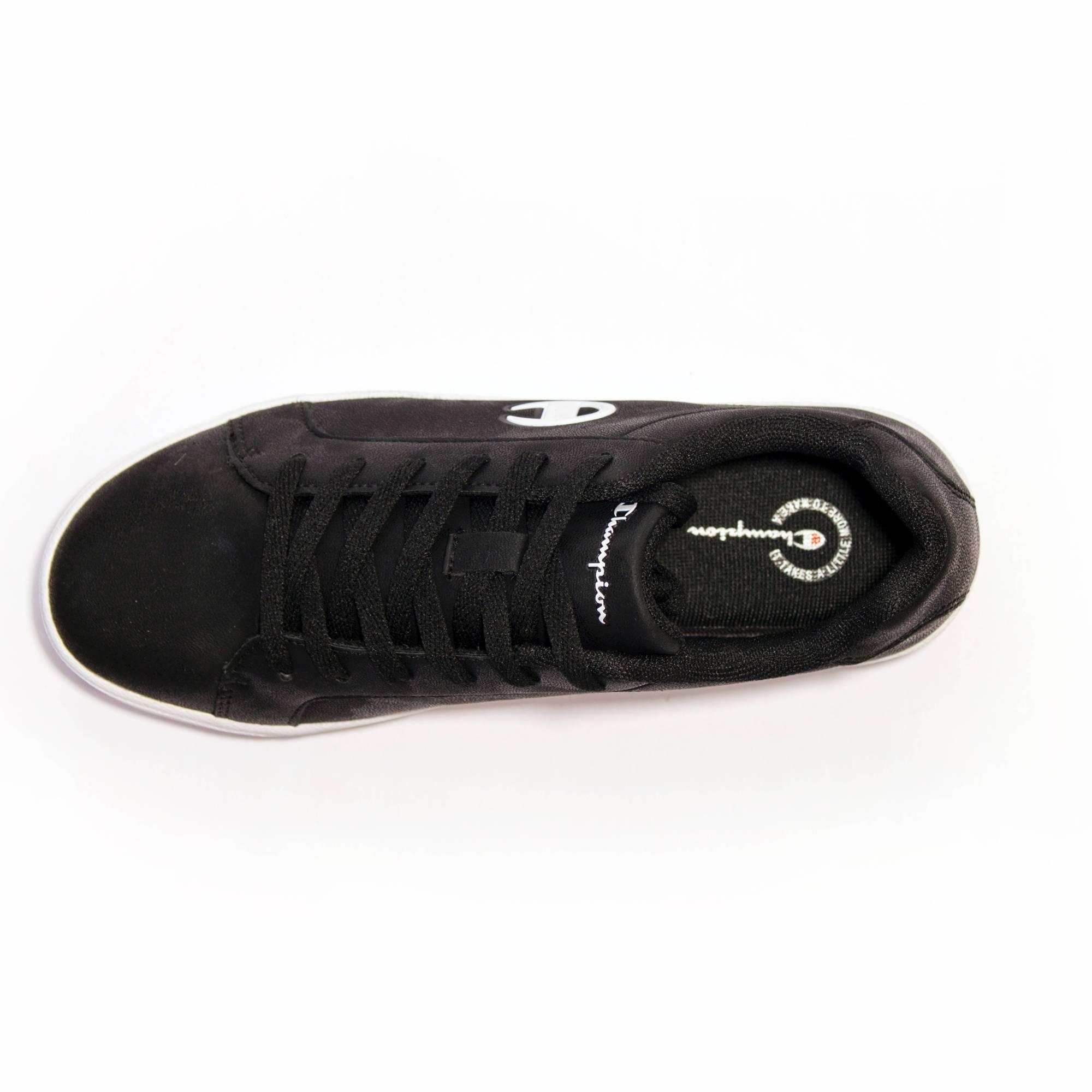 Großhandel CHICAGO LOW Schwarz Schuhe CHAMPION black PU