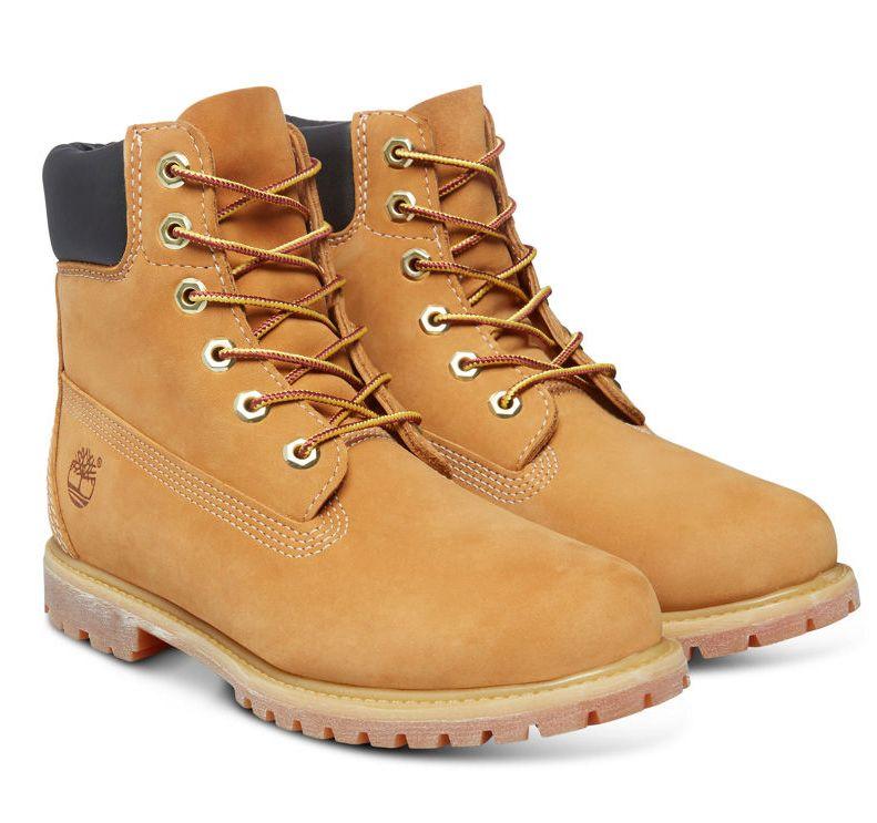 Timberland 6-Inch Premium Boot Women Stiefel Hellbraun Braun Schuhe T10361