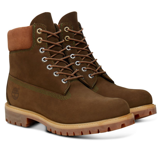 Timberland 6-Inch Premium Boot Men Stiefel Dunkelgrün Olive Schuhe TA17XP