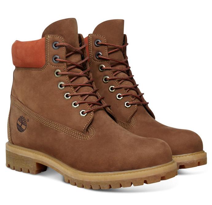 Timberland 6-Inch Premium Boot Men Stiefel Hellbraun Brown Schuhe TA19SM
