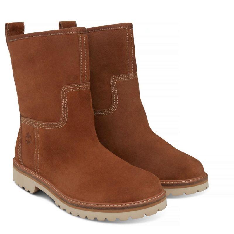 Timberland Chamonix Valley Winter Boot beige Schlüpfstiefel Boots Premium Leder