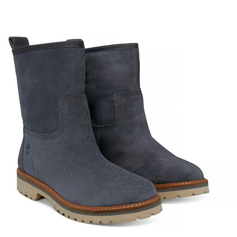 Timberland Chamonix Valley Winter Boot grau Schlüpfstiefel Boots Premium Leder