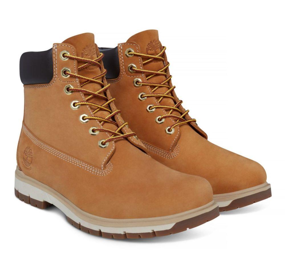 Timberland Radford 6-Inch Boot Herren hellbraun beige Stiefel Boots Leder Schuhe