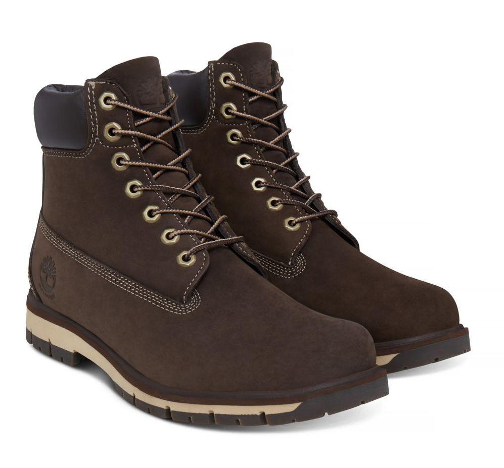 Timberland Radford 6-Inch Boot Damen braun rot Schnürstiefel Boots Leder Schuhe