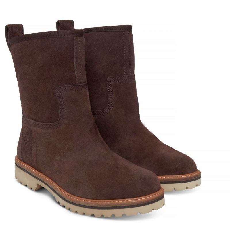 Timberland Chamonix Valley Winter Boot braun chocolate Schlüpfstiefel Leder