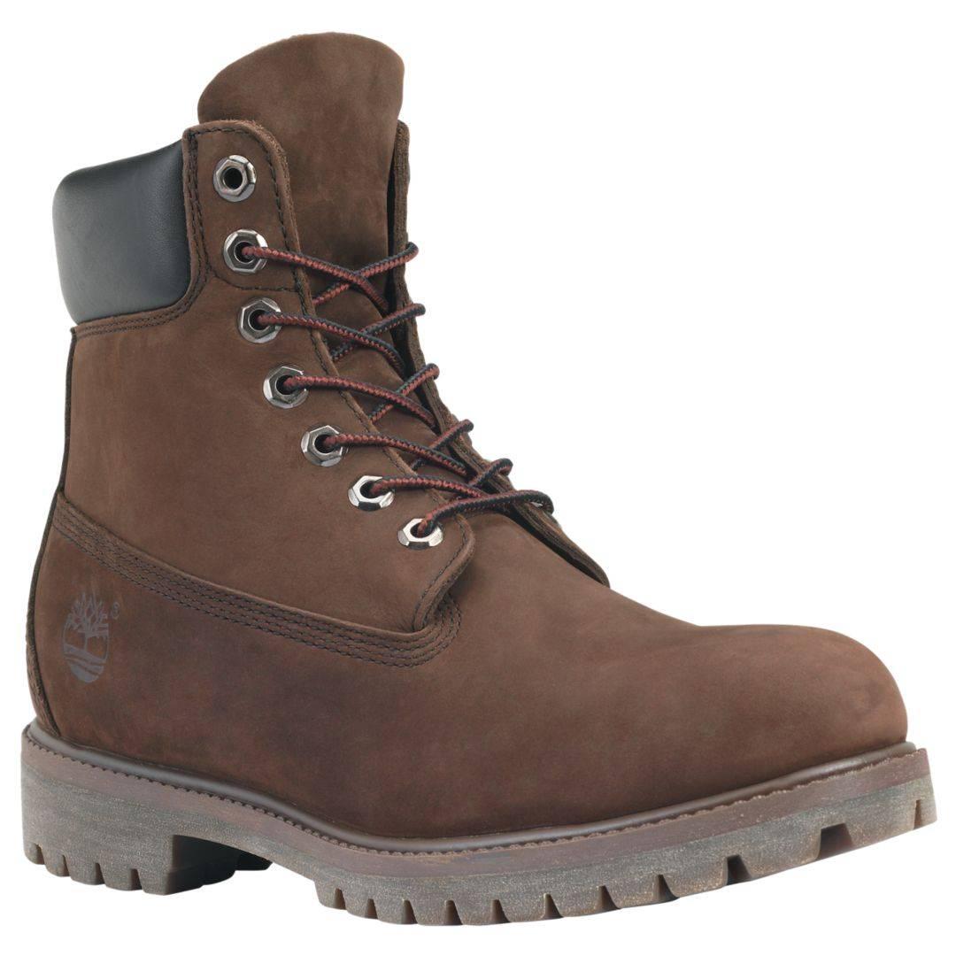 Timberland 6-Inch Premium Boot Men dunkelbraun Dark Brown Schnürstiefel Herren