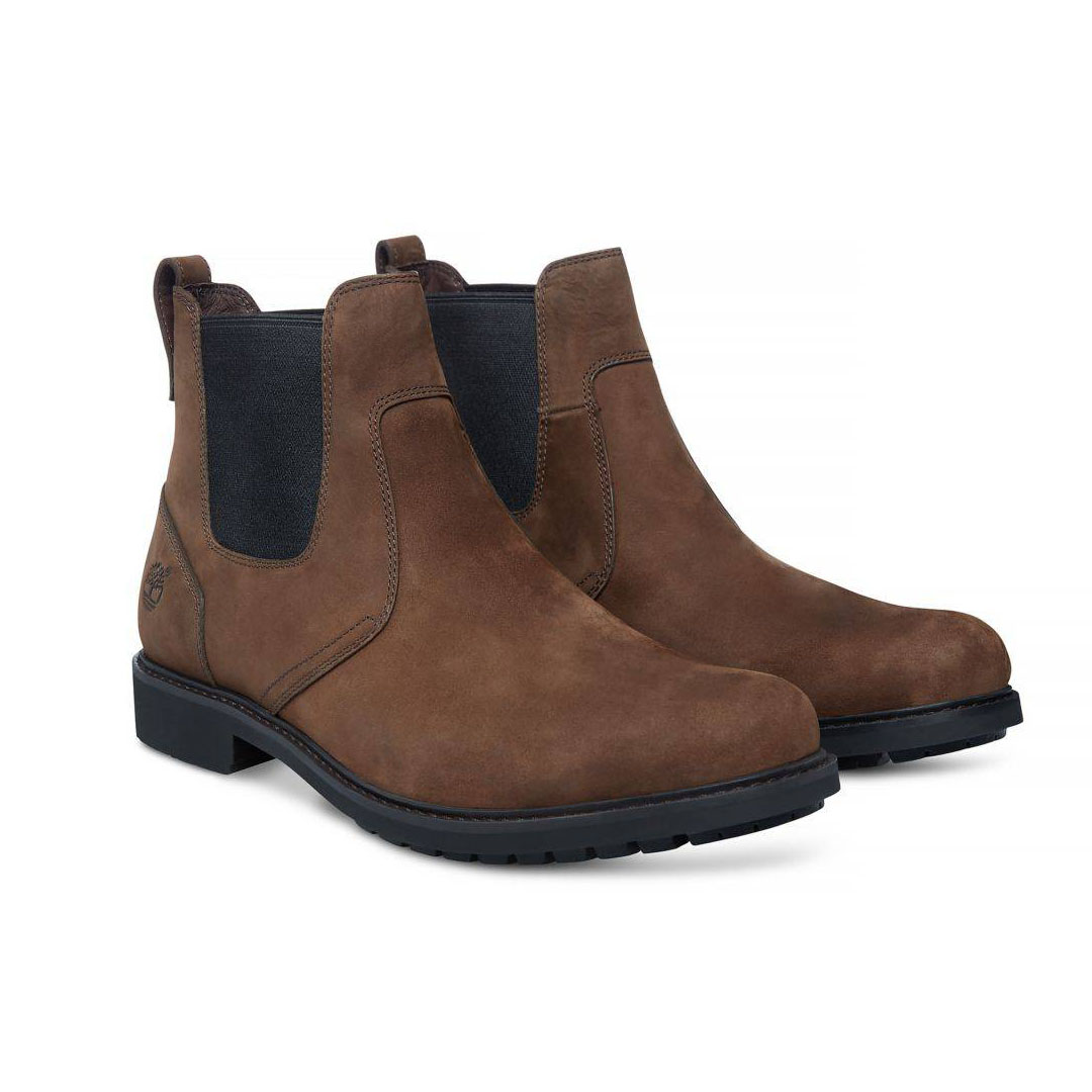 Timberland Stormbucks dunkelbraun Burnished Dark Brown Oiled Stiefelette Herren