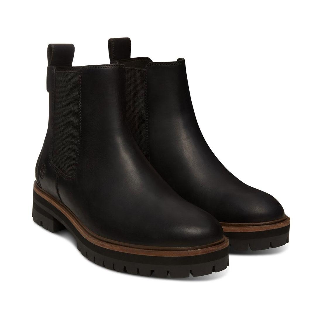 Timberland London Square Chelsea Boot schwarz Jet Black Schlüpfstiefel Damen