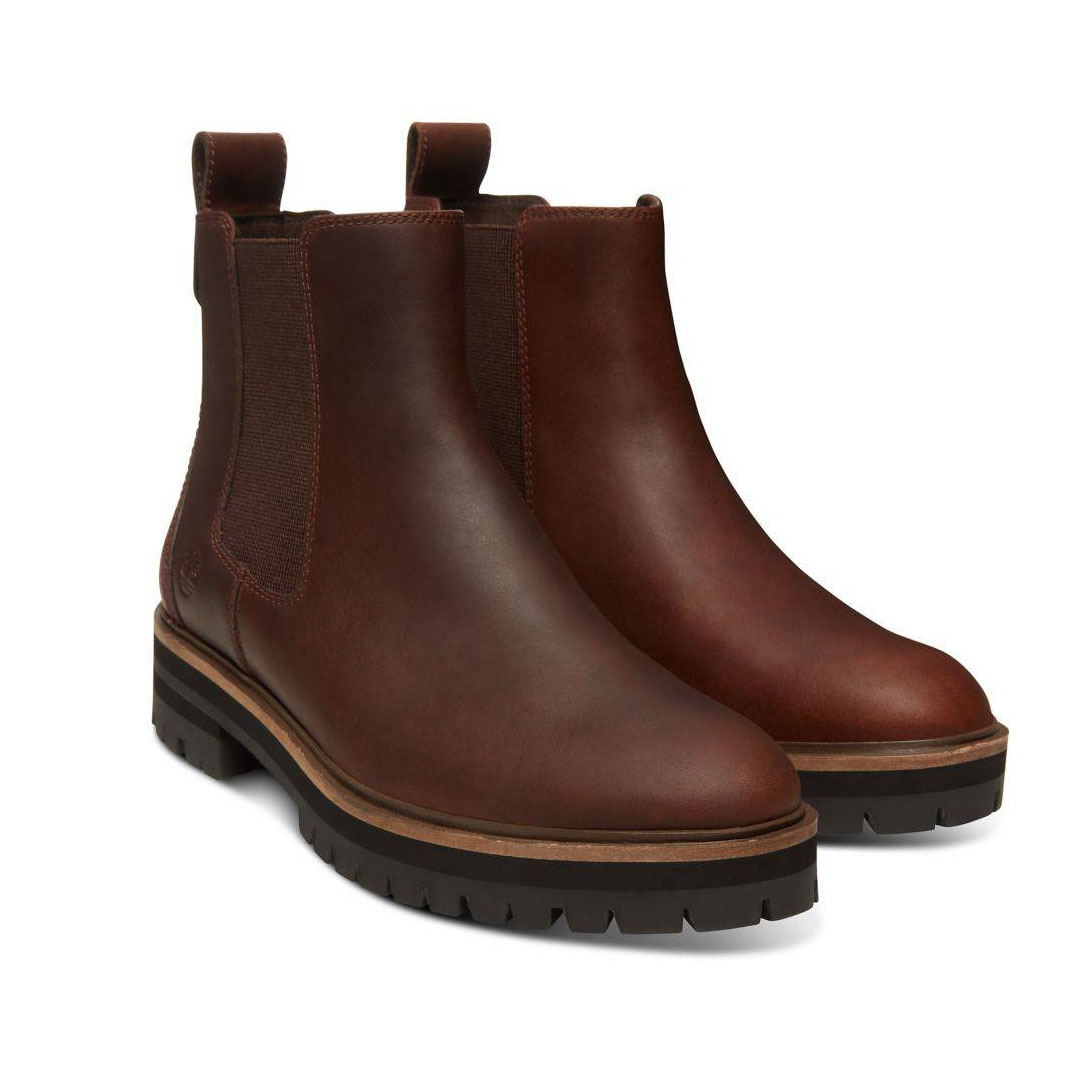 Timberland London Square Chelsea Boot dunkelbraun dark brown Schlüpfstiefel