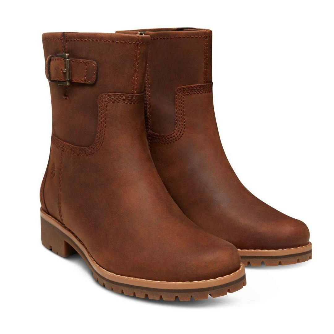 Timberland Main Hill WP Biker braun medium brown Schlüpfstiefel Biker-Boots