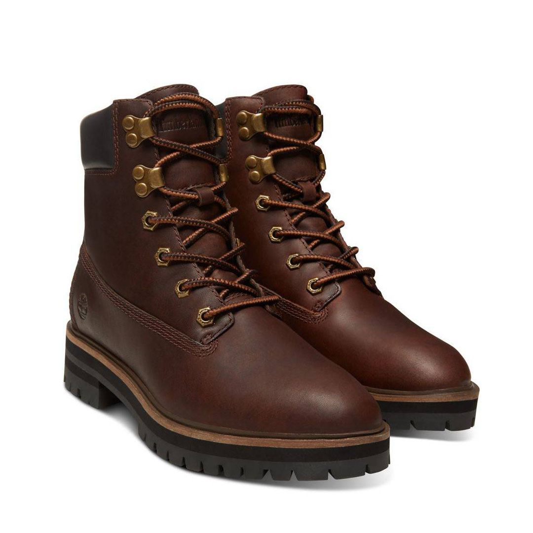 Timberland London Square 6-Inch Boot dunkelbraun dark brown Schnürstiefel Damen