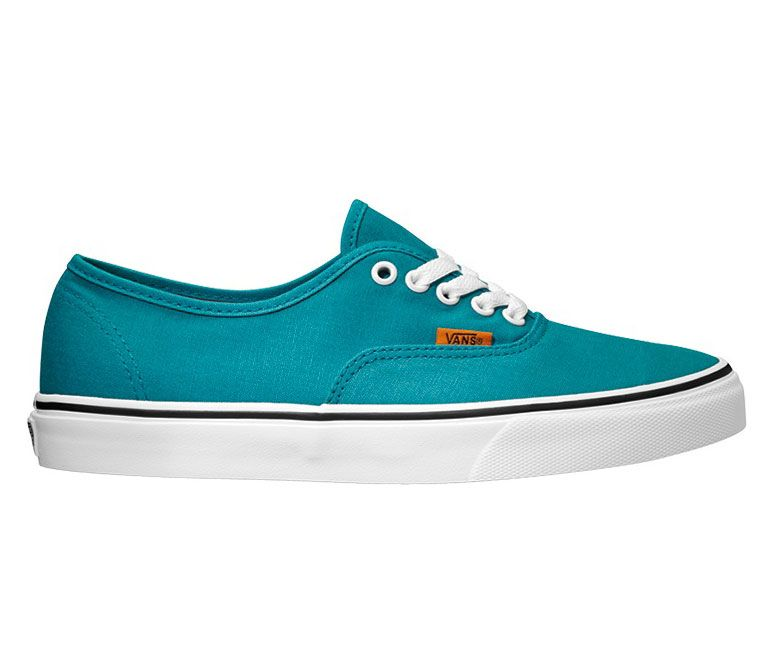 Vans Authentic Blau Canvas Sneaker Schuhe ZUKFK6