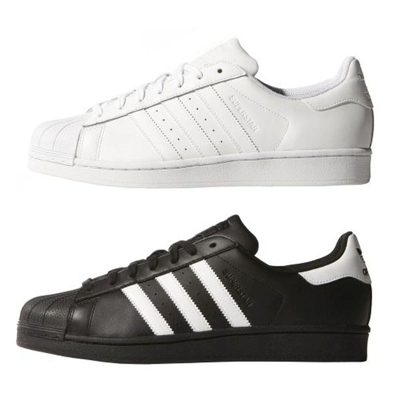 Adidas Superstar Foundation Sneaker Halbschuhe Leder Unisex Schuhe FS13