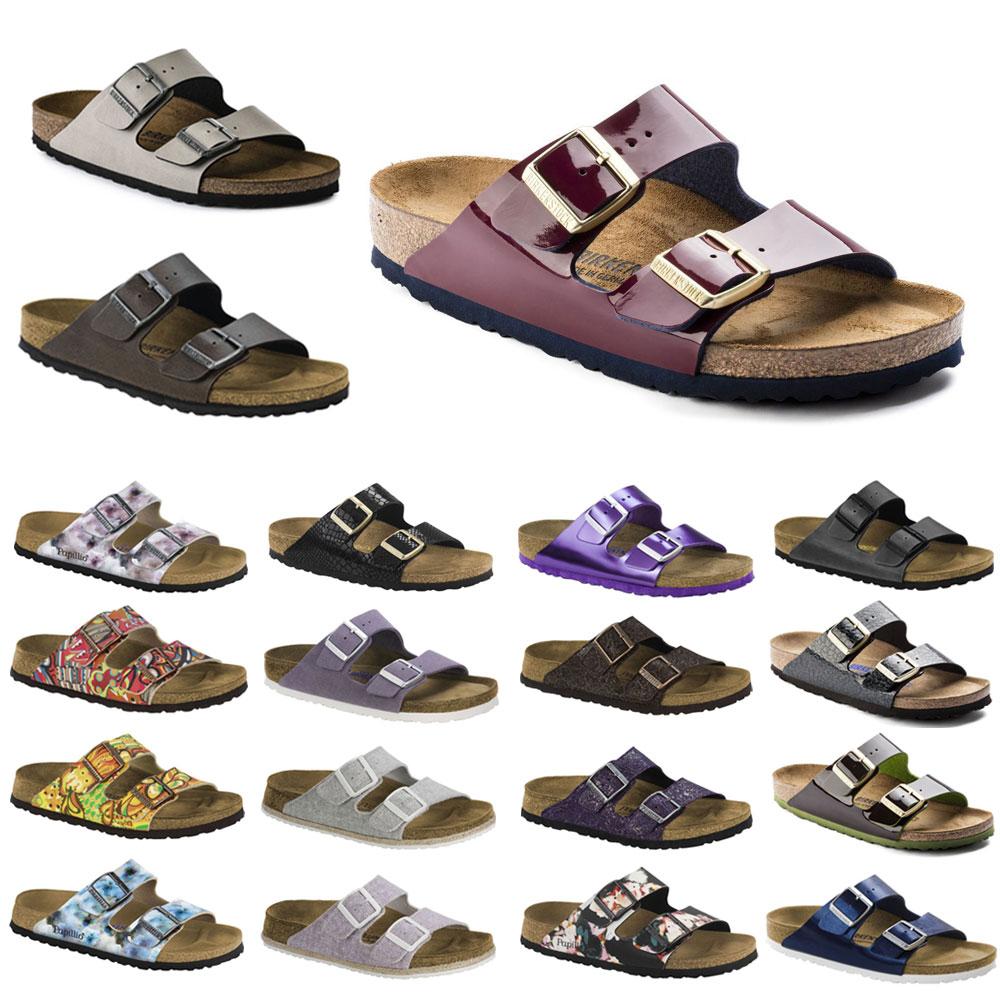 Birkenstock & Papillio Arizona 2-Riemen-Sandale Birko-Flor Leder Damen Schuhe