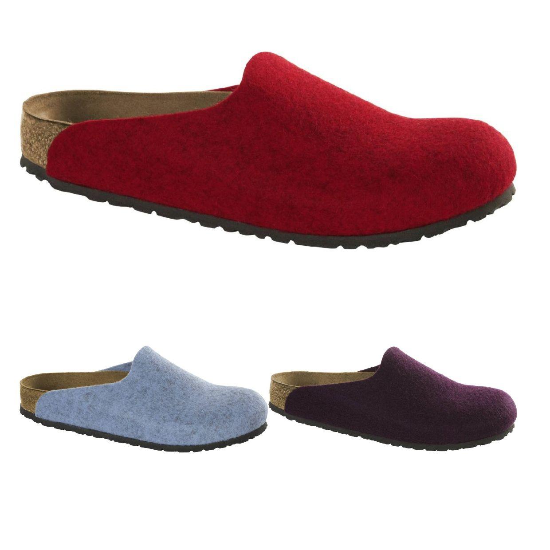 Birkenstock Amsterdam Clogs Sandalen Wollfilz Unisex Schuhe HW18