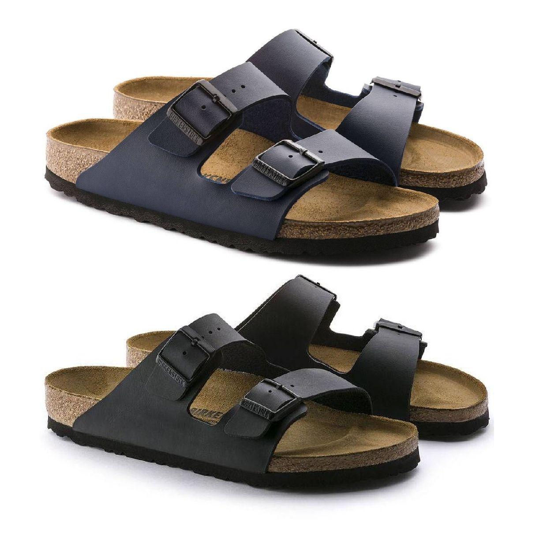 Birkenstock Arizona Sandalen Hausschuhe Birko-Flor Unisex Schuhe CO