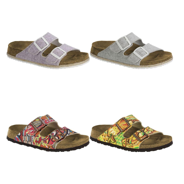 Birkenstock Arizona Sandalen Hausschuhe Birko-Flor Damen Schuhe HW17