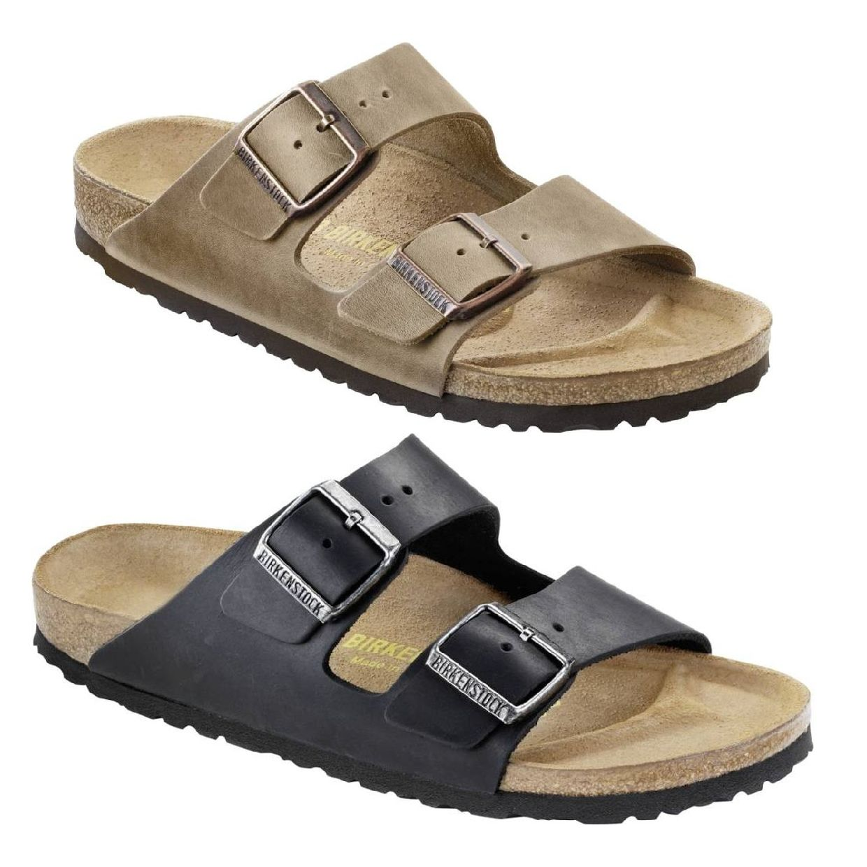 Birkenstock Arizona Sandalen Hausschuhe Leder Unisex Schuhe CO