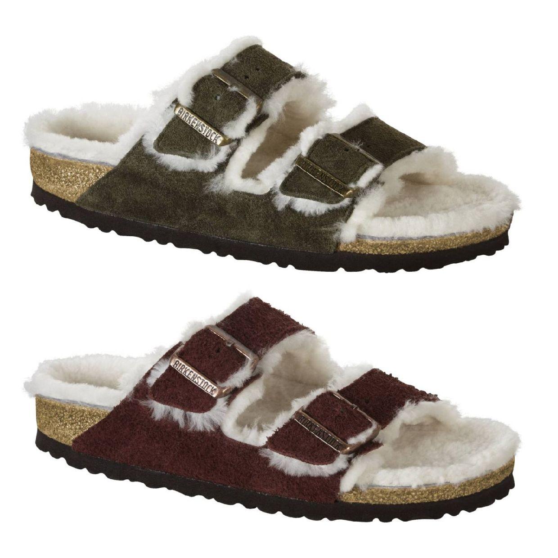 Birkenstock Arizona Sandalen Hausschuhe Veloursleder Suede Unisex Schuhe HW18