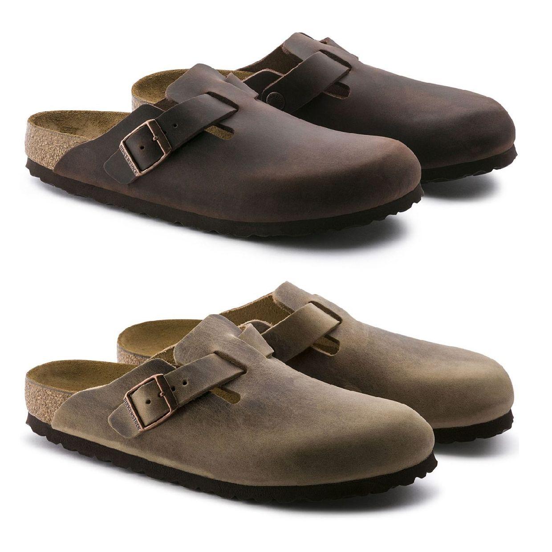 Birkenstock Boston Clogs Arbeitsschuhe Leder Unisex Schuhe FS19