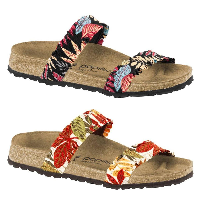 Birkenstock Curacao Sandalen Hausschuhe Birko-Flor Damen Schuhe FS18