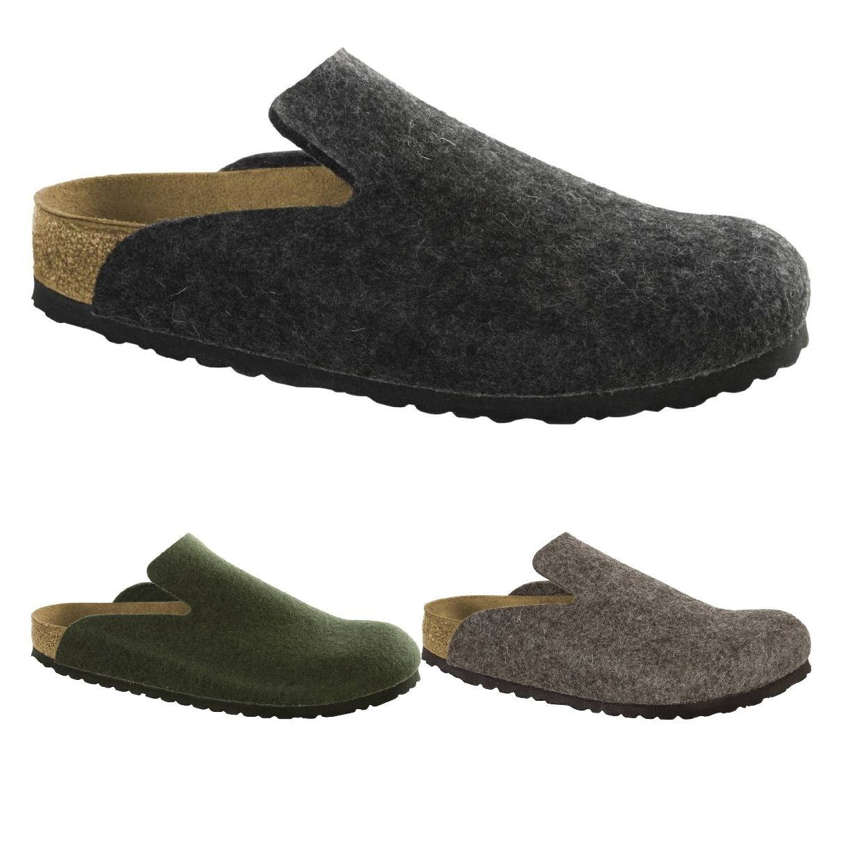 Birkenstock Davos Clogs Hausschuhe Wollfilz Unisex Schuhe HW18