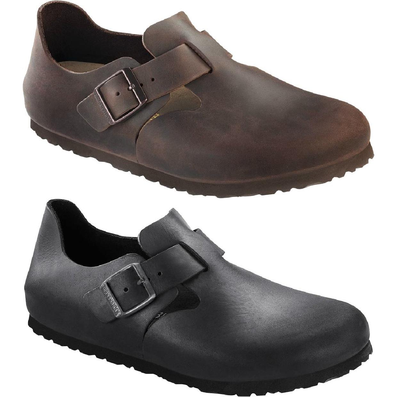 Birkenstock London Halbschuhe Schlüpfschuhe Leder Unisex Schuhe CO