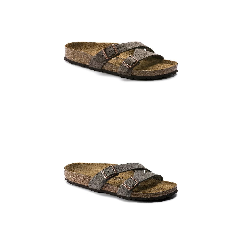 Birkenstock Yao Sandalen Hausschuhe Birko-Flor Damen Schuhe HW19