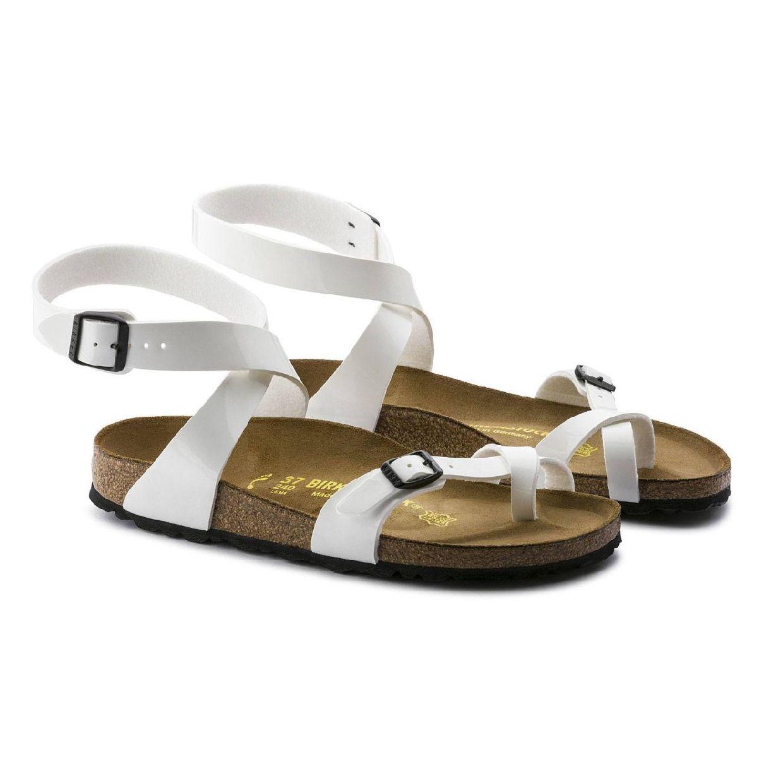 Birkenstock Yara Sandalen Zehentrenner Leder Damen Schuhe CO