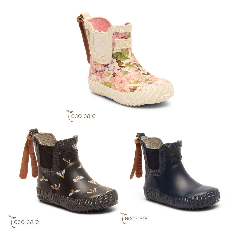Bisgaard Baby Gummistiefel Stiefel Naturkautschuk Kinder Schuhe CO