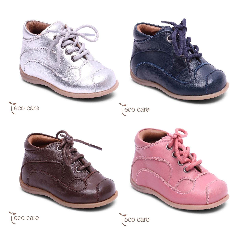 Bisgaard Classic Lauflernschuhe Stiefel Leder Kinder Schuhe CO